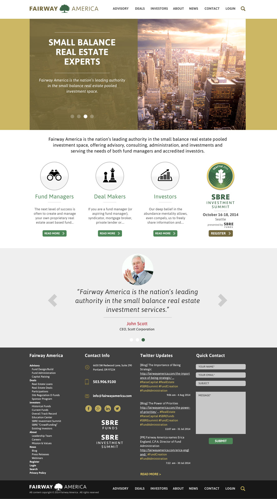 Cosmonaut - Fairway America Web Design