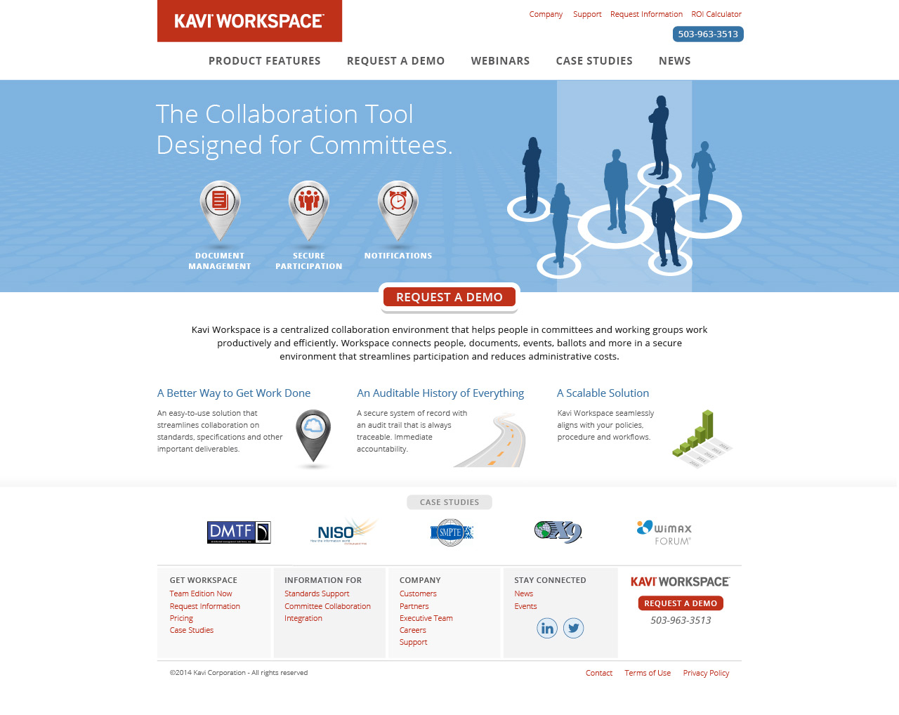 Cosmonaut - Kavi Corporation Web Design